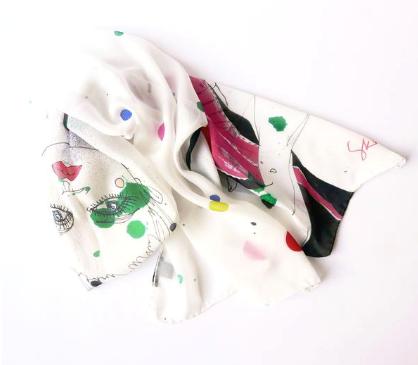 bridesmaids, scarves