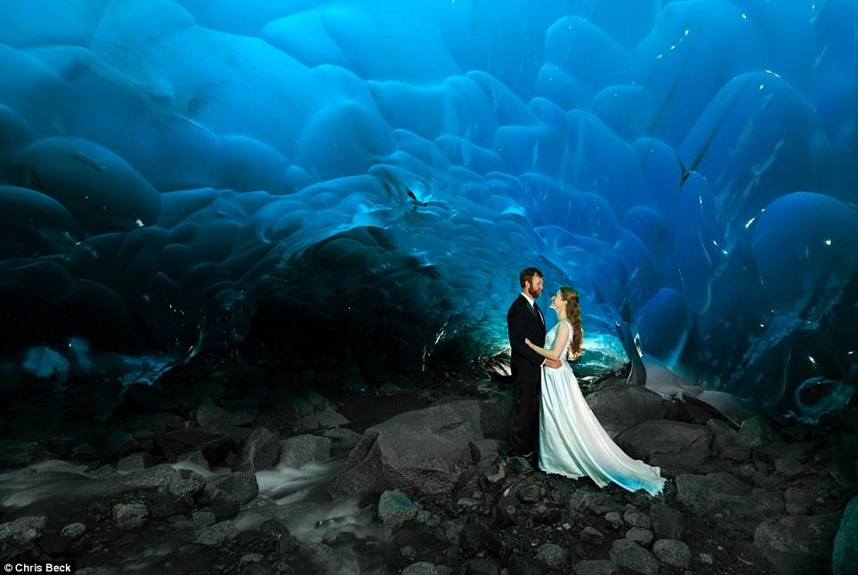 ice cave, wedding venues