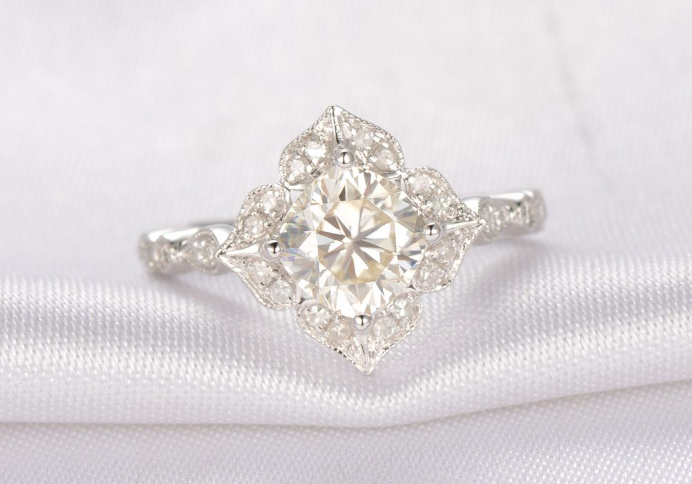 moissanite, gemstone,