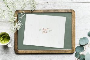 A guestbook is a lasting memory of your wedding