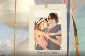 Surprise your guests with an original wedding video invitation