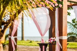 Wedding flower arrangements in Thailand